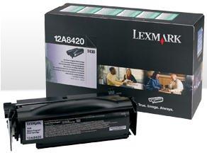 (LEXMARK T430 Black Return Program Cartridge. Toner cartridge - black - 6000 pages - for Lexmark T430 (Catalog Category: Printers & Print Supplies / Printer Consumables) )