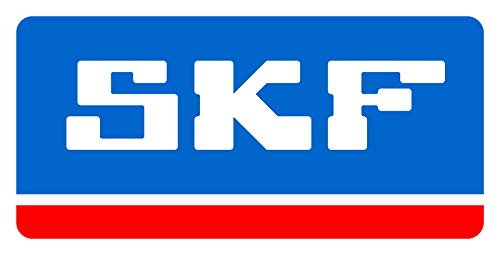 (SKF SY 1.1/2 RM Pillow Block Ball Bearing, 2 Bolts, Normal-Duty, Setscrew Locking Collar, Contact Seals, Cast Iron, Inch, 1-1/2