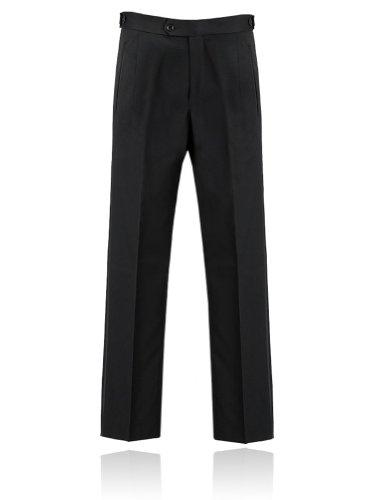Men's Black Tuxedo Pants 34 Regular