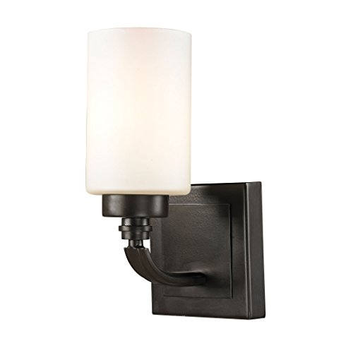 Elk Lighting 11670/1 Dawson Collection 1 Bath Light, Oil Rubbed Bronze by ELK Lighting