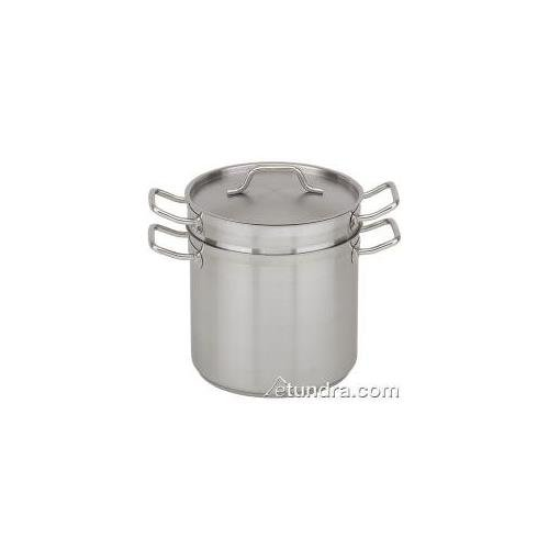 Royal Industries (ROY SS DB 8) - 8 Qt Induction-Ready Stainless Steel Double Boiler