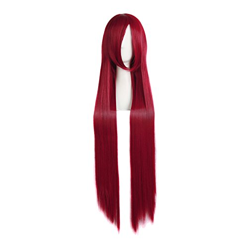 100 cm red wig - 6