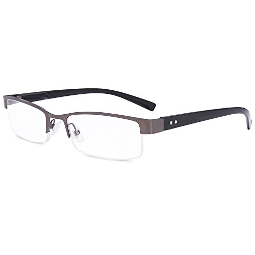 EYEGUARD Readers Metal Deluxe Spring Hinges High Quality Reading Glasses for Men
