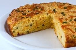 Cheddar Corn Bread Round 9 Inch Baked Fresh and Hot delivered to your door (Gifts Delivered To Door)