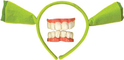 Rubies ShrekEars & Teeth, One