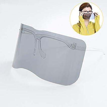 WJH9 Gafas al Aire Libre contra la Niebla Hombres Mujeres Bicicletas, UV Gafas de Sol sin Marco Laboratorio Lente Gafas de Seguridad Protección higiénica para Evitar Que Las Gotas de Gafas Niebla