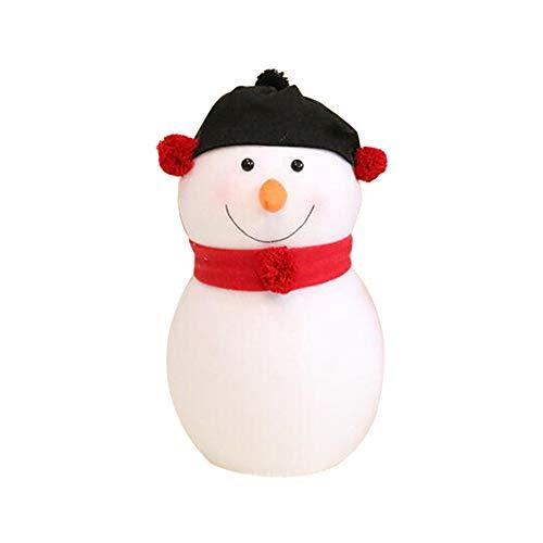 LIKESIDE Christmas Decorations Smile Face Size Snowman Decoration Scene Decor ()