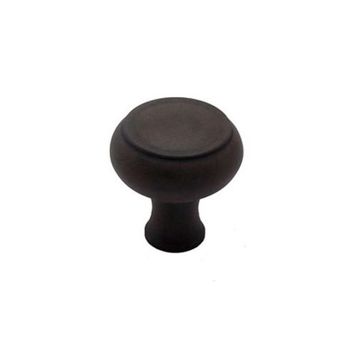 Berenson Forte Mushroom Cabinet Knob, 42mm Diameter, Rust Glaze ()