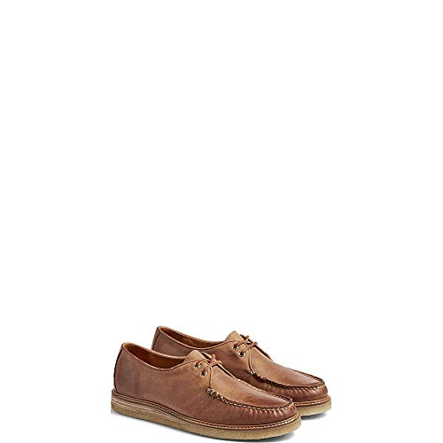 Sperry Top-Sider Gold Cup Captain's Crepe Oxford Men 10.5 Tan ()