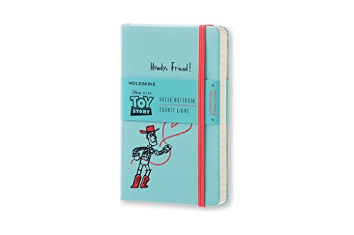 Moleskine Toy Story Limited Edition Notebook, Pocket, Ruled, Light Blue, Hard Cover (8051272893120)