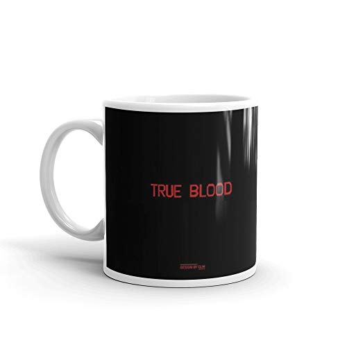 True Blood Logos 11 Oz White Ceramic ()