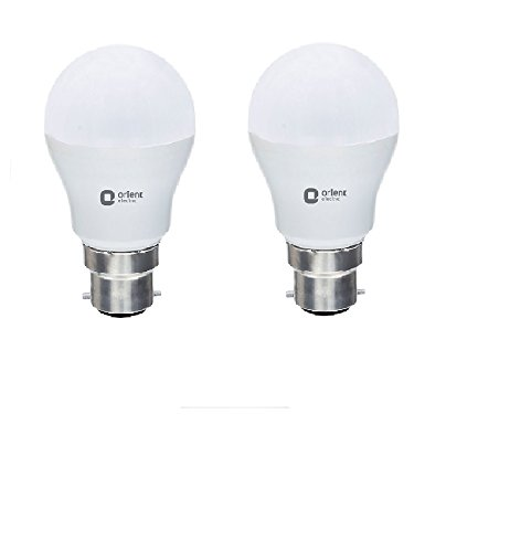 Orient Electric B22 7W and 9W LED Bulb  Combo Pack of 2, CDL White