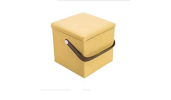 Paddia Descanso moderno Cubos plegables Cajas de almacenamiento Asiento de picnic otomano Versátiles Cubos que ahorran espacio Caja Carga máxima 300 Kg Para sala de estar Dormitorio Tocador vintage As: Amazon.es: Hogar