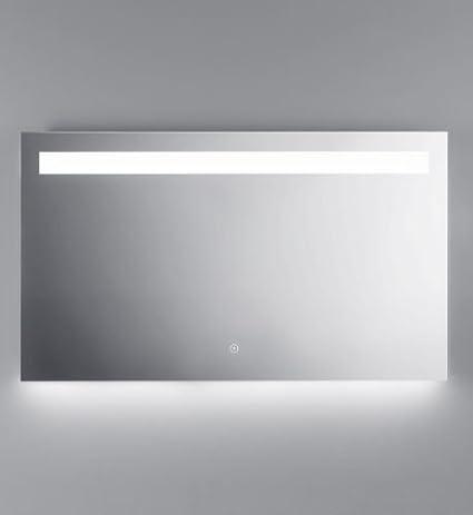amazon com kalia miraz illusion illuminated led bathroom mirror w