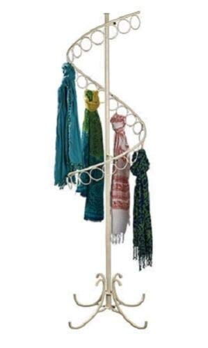 Buy All Store Spiral Scarf Rack Floor Display 27 Rings 6' Tall x 17
