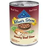 Blue Buffalo Blue's Stew Hearty Beef Canned Dog Food, My Pet Supplies