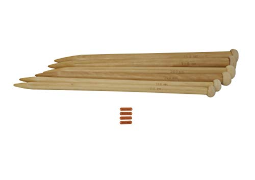 Bamboo Needles Straight Knitting (14