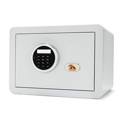 Safe, Safe Box, Security Safe,Digital Safe, Safe and Lock Box,Safety Box for Home,Electronic Steel Safe with Keypad,by TIGERKING