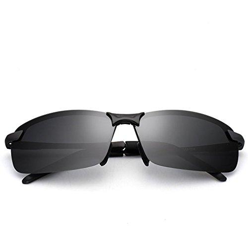 de noche hombres y antideslumbrante Polarizador de gafas Negro los conducción gafas Negro de Color gafas árbol nocturna de Pequeño sol de de sol visión día IvYOp7nq