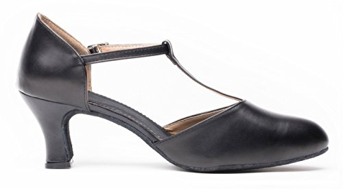 5.5US//36,Black Womens Breathable Mesh Jazz Dance Shoes Lady Latin Tango Ballroom Sports Dance Sneakers