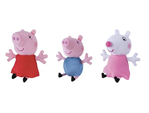 Peppa Pig Little Feature Plush 3-Pack