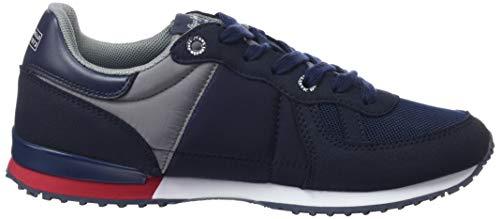Basic Jeans Pepe Bleu 595 Garçon Baskets Sydney navy 14qdHEqwx