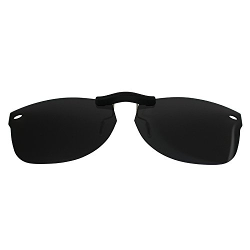Custom Polarized Clip On Sunglasses for Ray-Ban New Wayfarer RB5184 (RX5184) 50-18-145(No Frame) - Rx5184 New Wayfarer