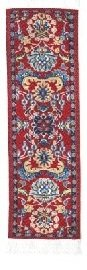 FOLIO by fun-n-nuf Bookmarks Red Tabriz Authentic Woven Oriental Carpet