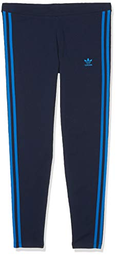 adidas Originals Women's 3 Stripes Legging, collegiate Navy/Bluebird, X-Large