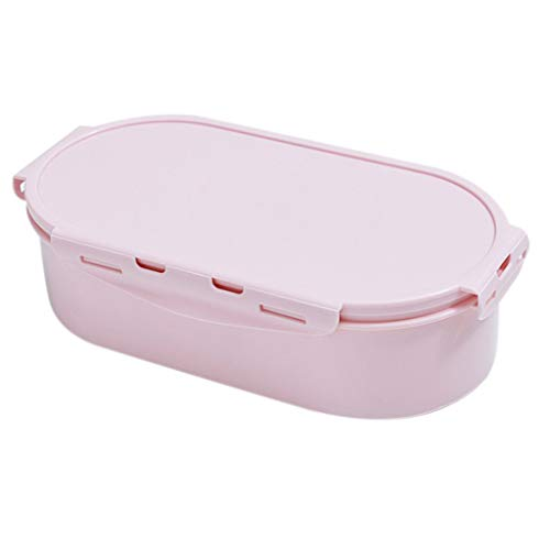 - 2019HoHo Creative Serving Tray Nuts Candy Fruits Tray Snack Storage Organizer Box with Lid
