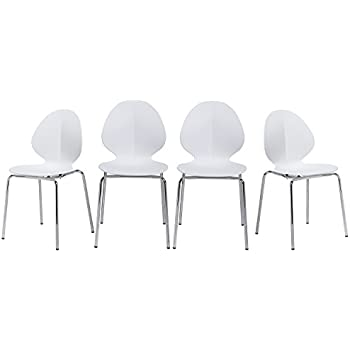 X3010;Lowest Pricex3011;Merax Best Selling Molded Plastic Chairs With  Sturdy Metal Legs