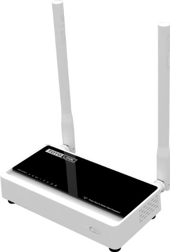 TOTOLINK N300 Dual Access Wireless WiFi Router/Bridge/Range Extender/Access Point/Client Modes- 2 x 5dBi High Power Antennas, Up to 300Mbps (N300RT)