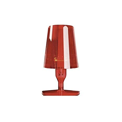 Kartell 9050AM Take Lampada da Tavolo, Ambra [Classe di efficienza ...