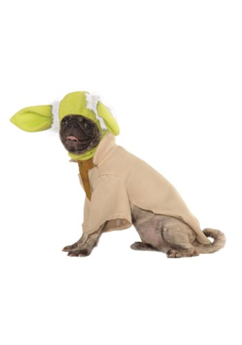 [Yoda Dog Costume Size: Medium (15