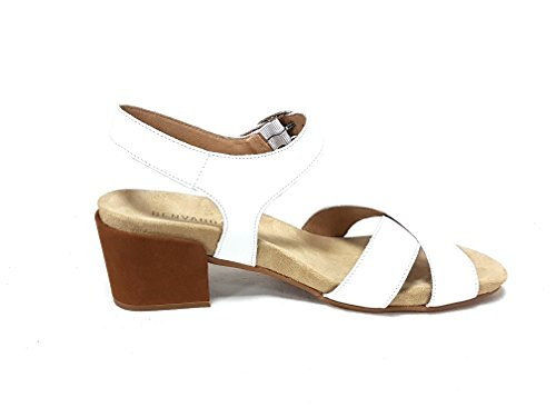 Sandales Femme Benvado Multicolore Cuoio Bianco Pour 6n7wSU