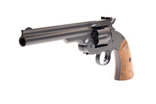 Airgun BB/Pellet Gun Schofield No.3 Authentic co2 Revolver .177 Cal Full Metal Real Steel Pistol Hit Your Targets Every Time With Standard Pellets Ammo