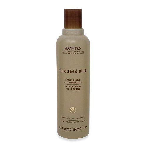 Flax Seed Aloe Strong Hold Sculpting Gel Aveda For Unisex 8.5 Ounce Offering Maximum Control