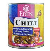 Eden Foods Chili Vegetarian Kidney Beans Kamut & Spices -- 29 oz