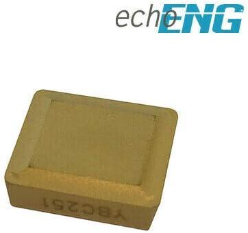 Inserti placchette metallo duro tornio tornitura 10pz INDUSTRIALI SPMR120308