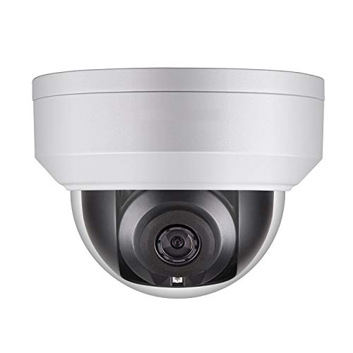 WGCC 4MP IP Poe Dome Camera,2.8MM WDR Vandal-Resistant Network Security Camera Outdoor Support H.265 IP67 Waterproof