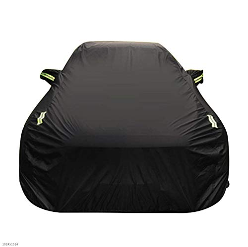(FlyDu Full Car Cover Bentley Flying SPUR Thick Sunscreen Insulation Sunshade Rain Cover Car Cloth Four Seasons Special Car Cover (Color : Oxford Cloth - Built-in lint))
