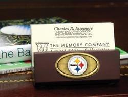 NFL Business Card Holder NFL Team: Pittsburgh Steelers