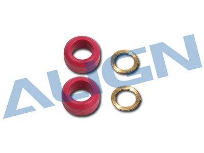 Align Damper Rubber Red 60-degree: 550E
