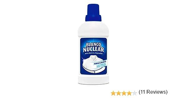 Blanco Nuclear - Blanqueante quitamanchas en gel, 500ml: Amazon.es ...