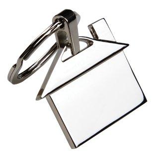 House Design Key Chain