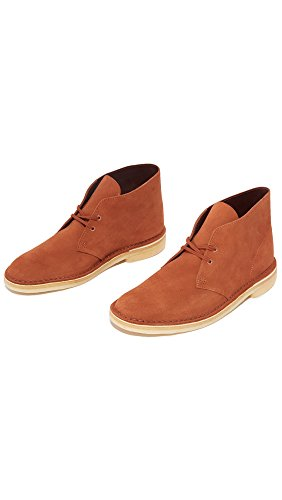 Suede Desert Dark Mens Boot Clarks Tan gFSxFp