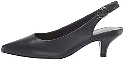 635b8ba4a75 Easy Street Women's Faye Pump Navy 6 M US: Amazon.com: Amazon US
