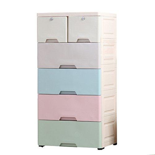 DIY Cabinets Cajonera de Dormitorio Armario de Almacenamiento de cajones de bebé Armario de Almacenamiento de plástico...