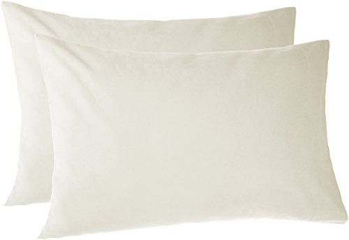 (Pinzon 170 Gram Flannel Pillowcases - Standard, Cream)