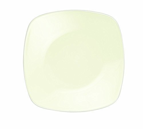 Noritake Colorwave White Square Dinner Plate by Noritake